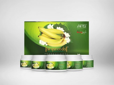 Aryanveda Unisex Banana Vitamin boost Kit All Skin Type 510gm