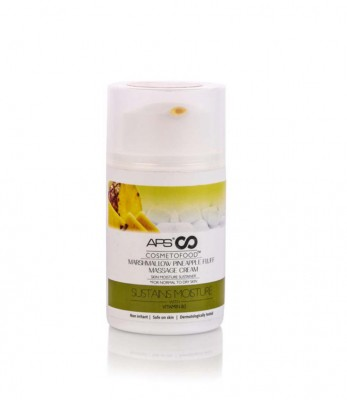 APS Cosmetofood Marshmallow Pineapple Fluff Massage Cream