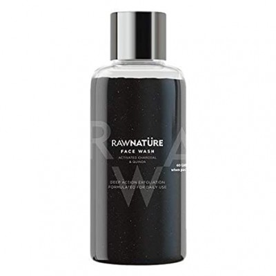 RawNature Face wash Activated Charcoal And Quinoa