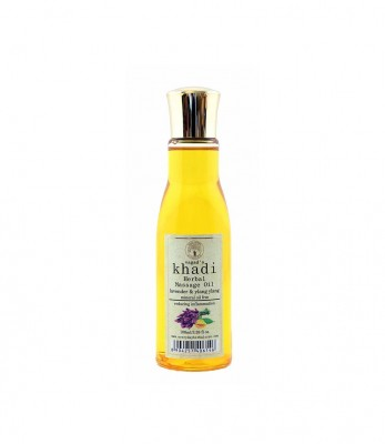 Vagads Khadi Lavender And Ylang Ylang Mineral Free Massage Oil