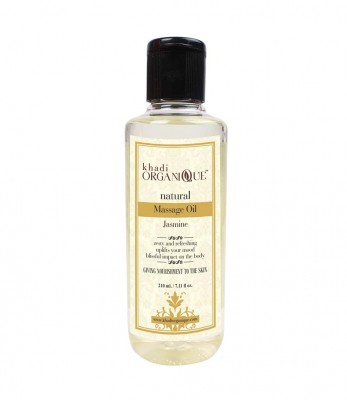 Khadi Organique Jasmine Massage Oil