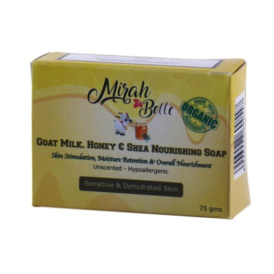 Mirah Belle Naturals Goat Milk Honey And Shea Nourishing Soap