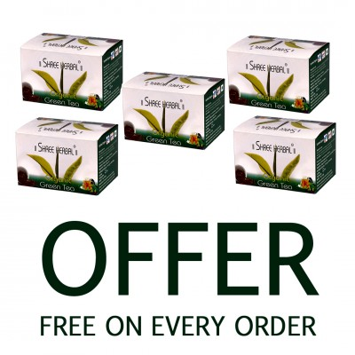 Buy Shree Herbal Daily Digest Tablets (Pack of 5) and Get 1 Pack of Heena Powder FREE